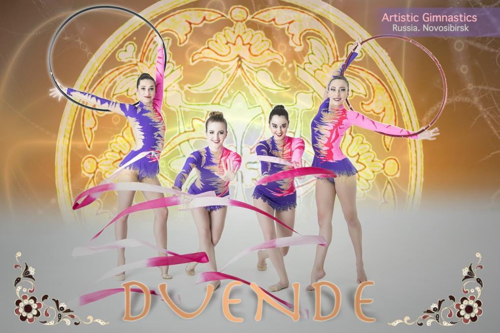 ・DUENDE ・ Artistic Gimnastics・ poster