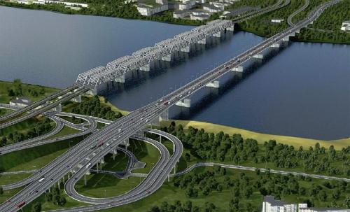 Открытие Четвёртого моста через Енисей